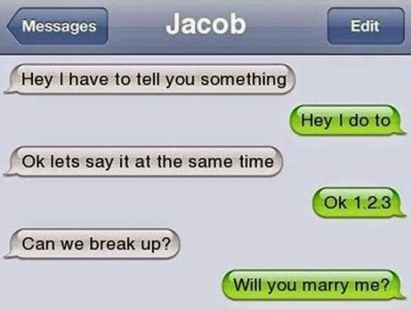 Ultimate Funniest Breakup Texts Messages Ever - Likes