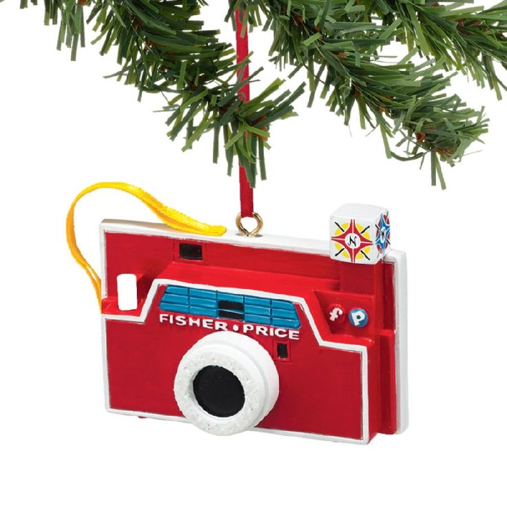 Camera Christmas Tree Ornament Part - 39: Fisher Price Camera Ornament