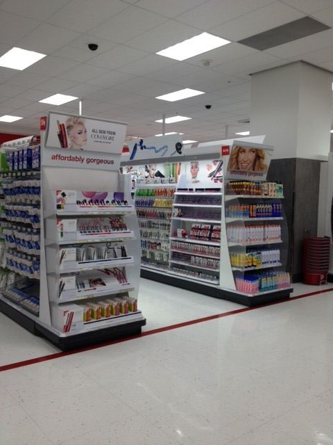 Beauty Aisle in City Target