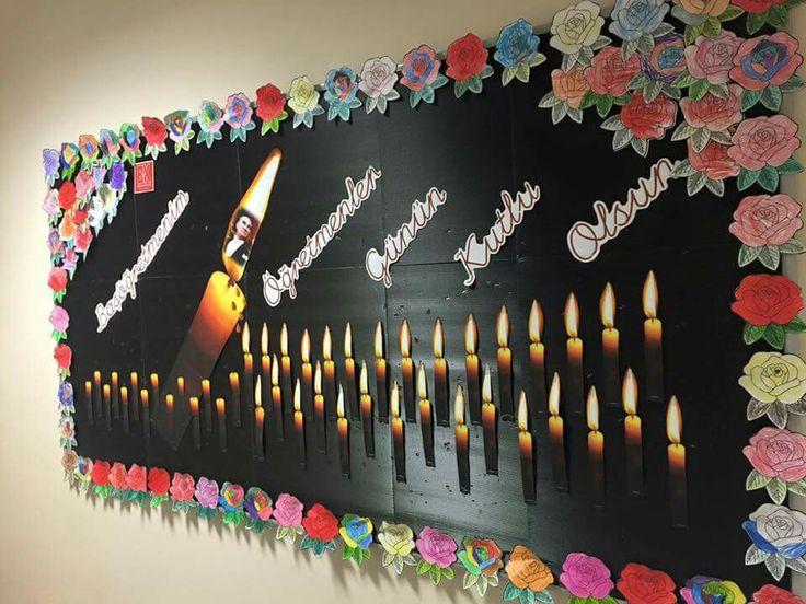 Bahçeşehir Okulu 2015-2016 Eğitim Öğretim Yılı 1. Sınıflar Pano
