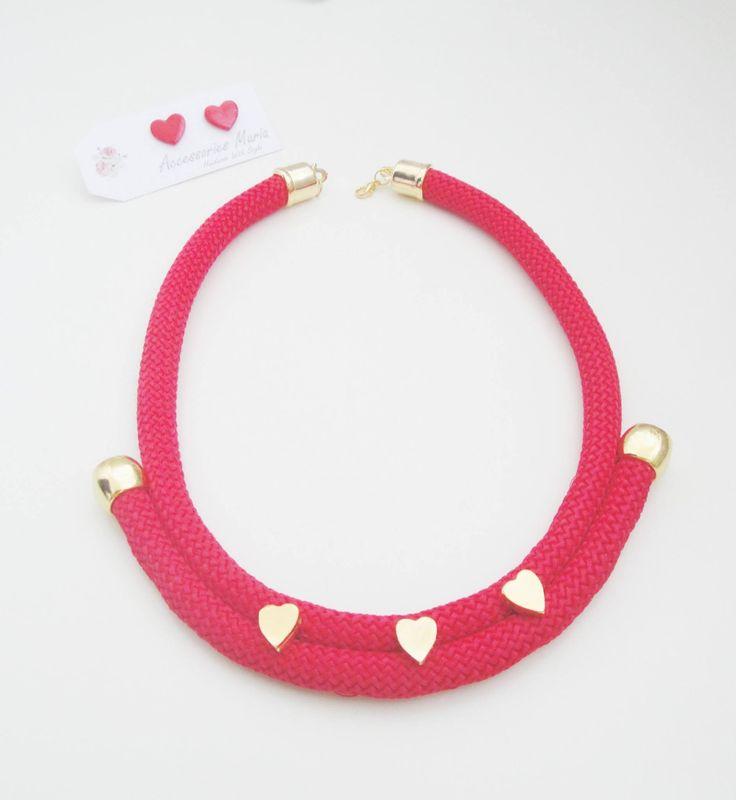 Colier Valentine's Day (35 LEI la AccessoriesMaria.breslo.ro)