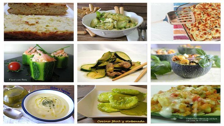 El post de hoy está dedicado a las verduras, en especial al calabacín  Una verdura que admite muchas formas de cocinarse y va perfectamente con tido tido de alimentos ( otras verduras, carne, pasta o pescado).