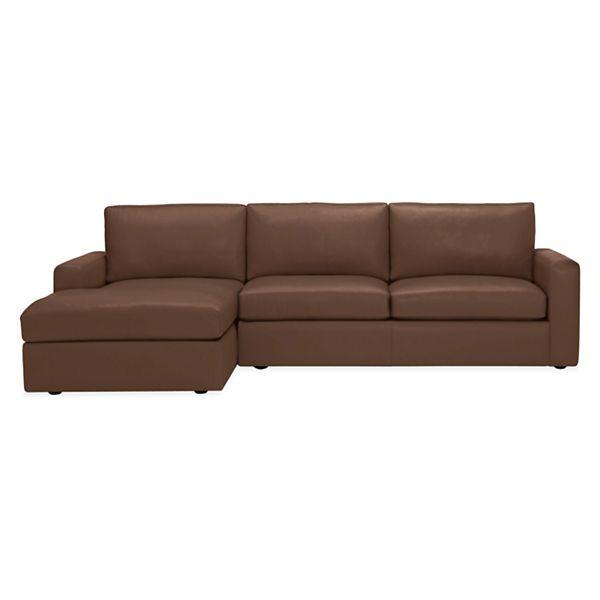 Room Board Taft 114 Sofa With Left Arm Chaise