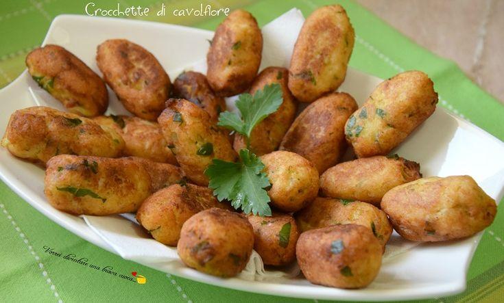 Questa settimana voglio dedicarla alle verdure a come prepararle in maniera sfiziosa e gustosa! Iniziamo con delle golosissime crocchette di cavolfiore!