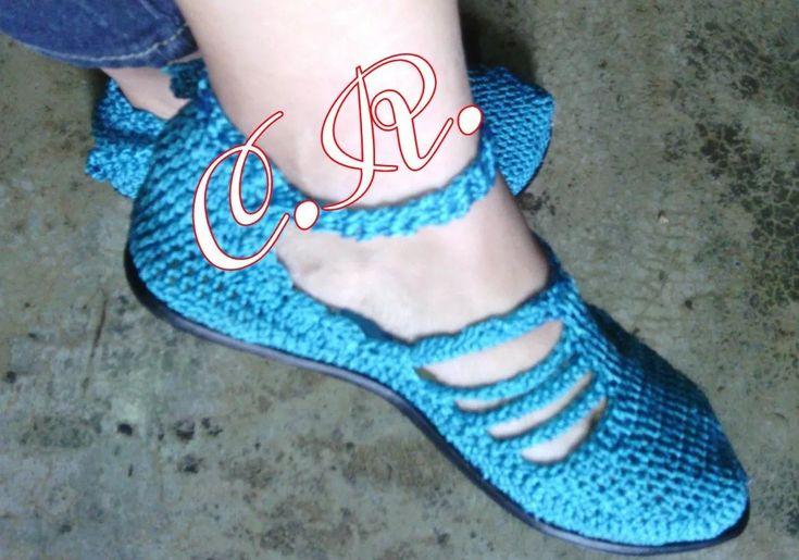 Zapatos Y Sandalias Tejidas - Bs. 8.000,00 en Mercado Libre