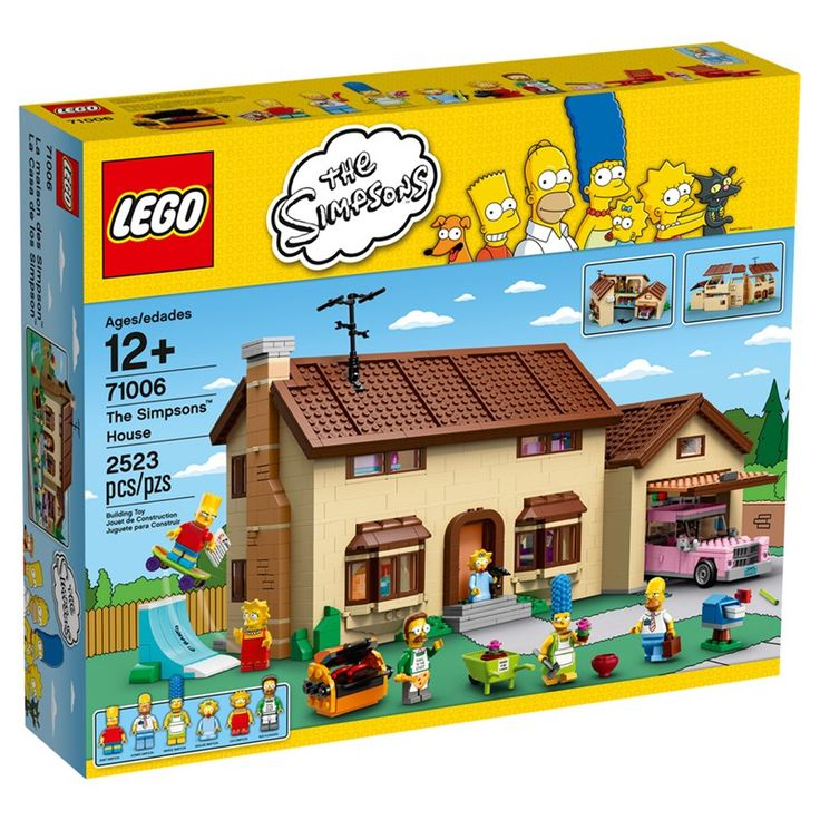 71006 - LEGO Simpsons - A Casa dos Simpsons - Ri Happy