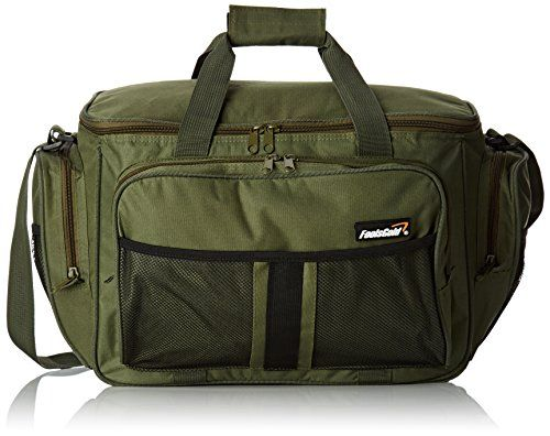 Fishing UK - Large Olive Green Insulated Fishing Tackle Holdall Bag