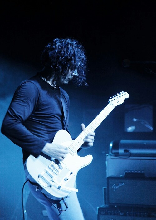 Jack White. I firmly believe his guitar prowess has a direct correlation to his prowess in bed. Lucky is the woman who knows what the rest of us can only fantasize about.