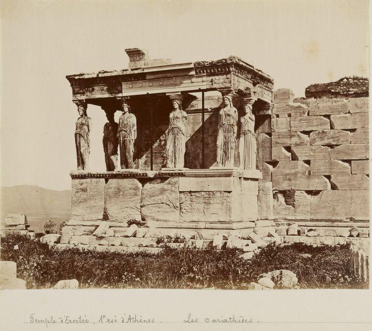 Caryatides (korae) in Erechtheion