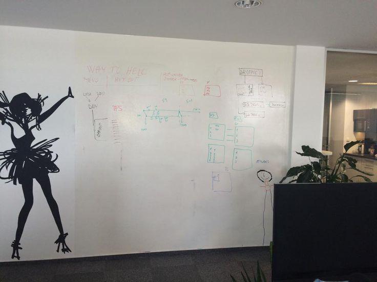 Další nápad od zákazníka, jak může vypadat Chytrá zeď :). Pište po zdi a buďte kreativní! ---- Another idea of Smart Wall from our customer. Write on walls and be creative! :)  www.smartwallpaint.cz
