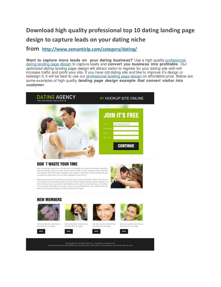 Dating site for professionals only