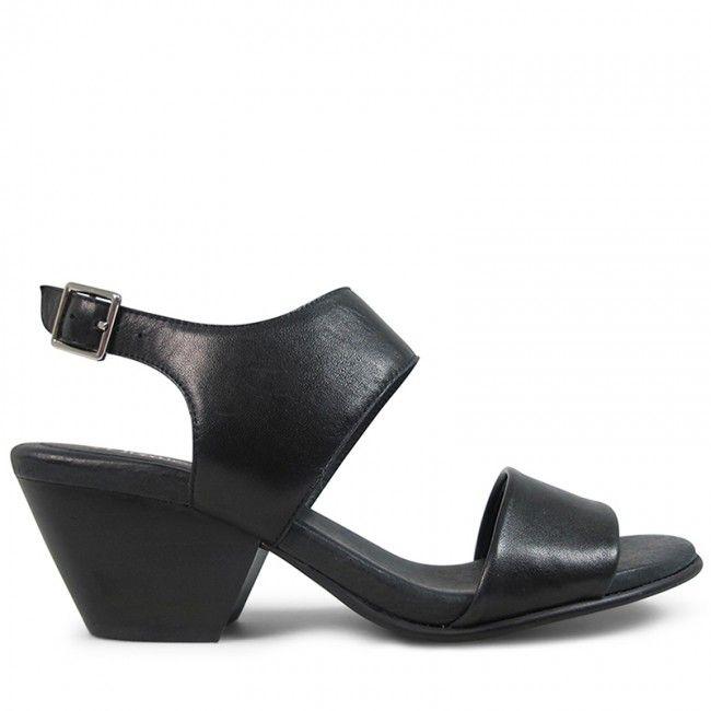 Wittner Paradise Heel Black Leather