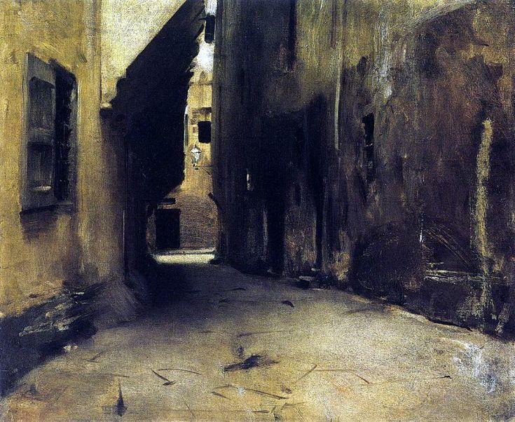 A Street in Venice 1882. Джон Сингер Сарджент