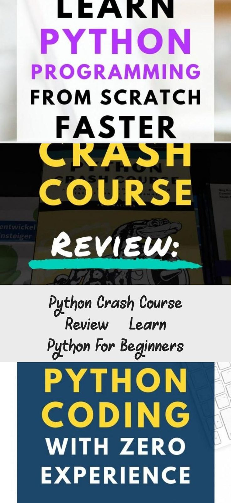 Python crash course review learn python for beginners in