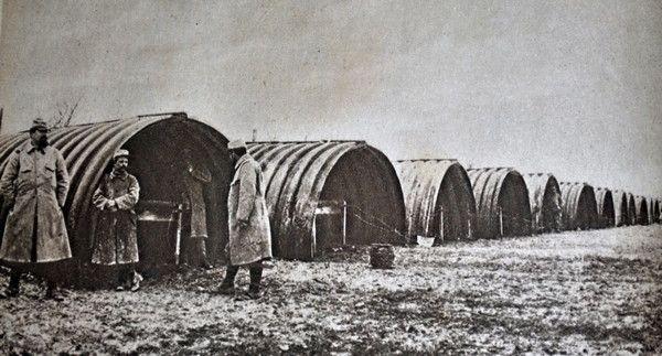 photo abris blindés pres de verdun - Guerre 14/18
