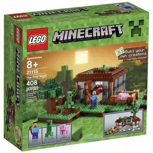 Lego 21115 Minecraft The First Night - $ 2.799,99