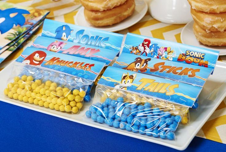 If your little gamer loves Sonic the Hedgehog and his friend Tails, then we have a special treat for you. These awesome Sonic Boom snack tag printables are available to you for FREE. They're great for labeling party snacks or lunch snacks!