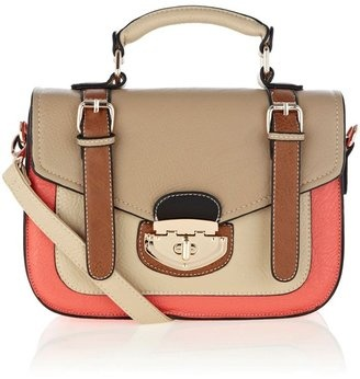 ShopStyle: Warehouse Multi colour satchel