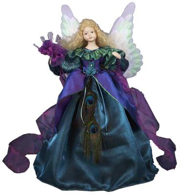 117 Best Christmas Angel Toppers Images On Pinterest Christmas  - Christmas Angel Tree Topper Lighted