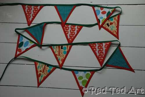 How to...make No-Sew Bunting! - Red Ted Art's Blog