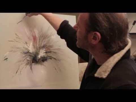 """""""Тюльпаны"""". Олег Буйко. Живопись маслом. Process of creating oil painting. - YouTube"""