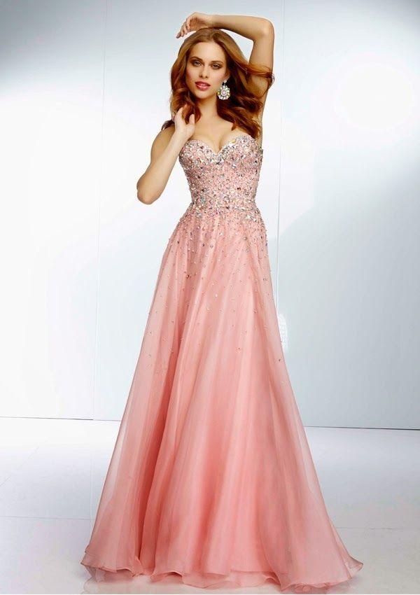 29 best vestidos de noche images on Pinterest   Evening gowns ...