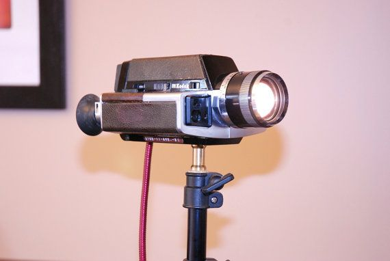 This is truly unique ! This bedside light is like none other !  This vintage camera has been up-cycled and altered into something that is