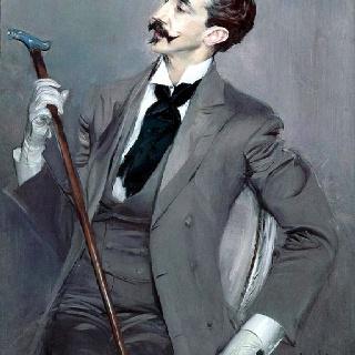 Robert de Montesquiou-Fezensac by Giovani Boldini - 1897