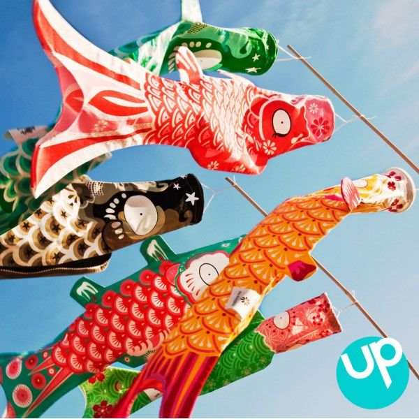 94 best images about cerf volant kite koinoboris for Koi fish kite