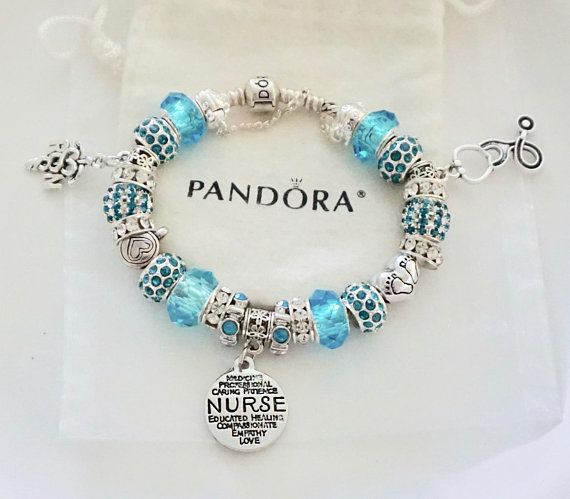 Rn Registered Nurse Charm Authentic Jared Pandora Bracelet
