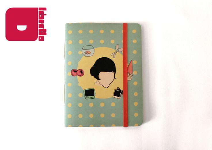 Série Amabilité (por Arthur Reis e Letícia Naves) | Amelie - Libretto | Cadernos com personalidade! Para comprar acesse: http://loja.meulibretto.com/serie-amabilite-ct-4c4a7