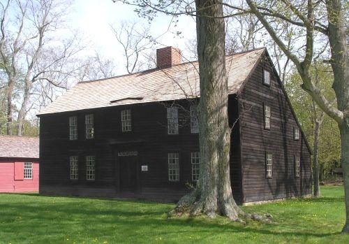 The Thomas Lee House in the Niantic section of East Lyme, Connecticut, was constructed between 1660 and 1664. It is one of the oldest wood frame houses in Connecticut still in its primitive state. Today the house is a historic house museum operated by the East Lyme Historical Society, and furnished as it would have been in the 18th century.