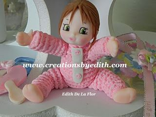 CREATIONS BY EDITH, Cake & Cold porcelain designs: January 2013