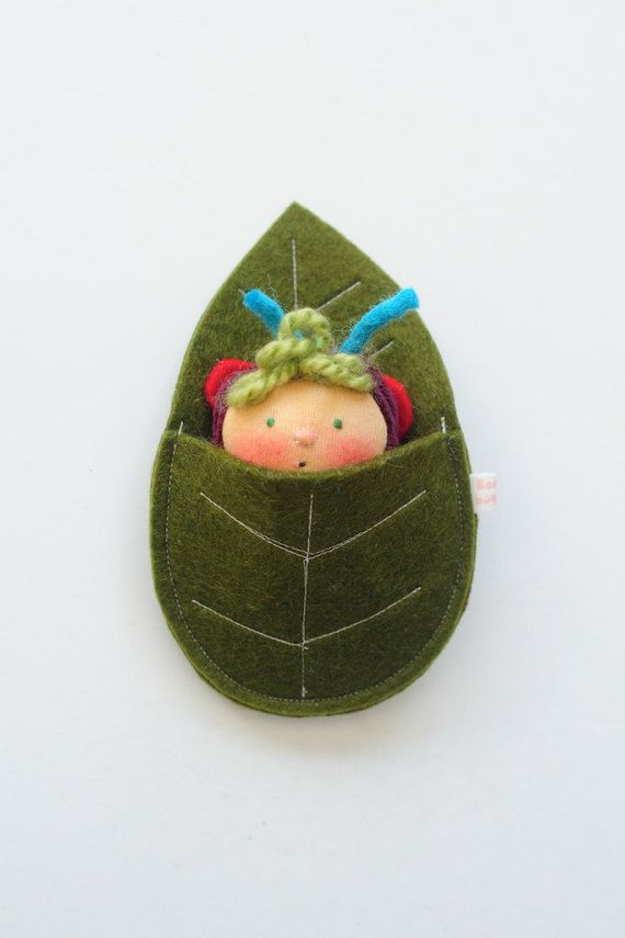 Butterfly Baby and Leaf Bed