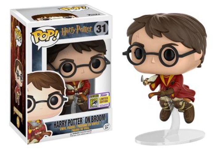 Harry Potter on Broom #31 -- SDCC Exclusive 2017