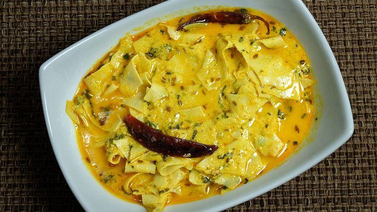 Papad ki sabzi this is a traditional Rajasthani dish. Papad ki sabji is delicious and flavorful. Papad ki sabji has a distinct flavor and easy to make. Serve hot with roti paratha or plain rice.