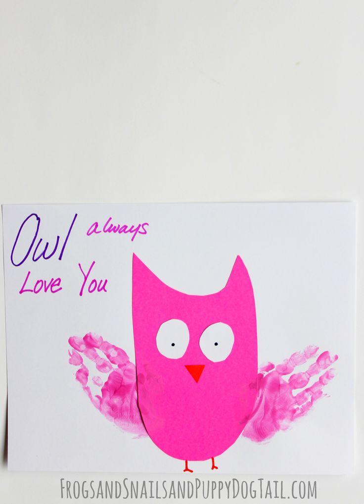 valentine owl craft free preschool crafts - 736×1018