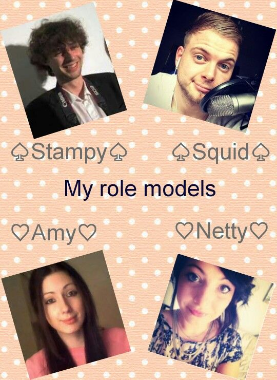 My role models. I have grown up with them and they are lovely people <3 I love each and everyone of them in so many ways. Made by: Maddi Dominger