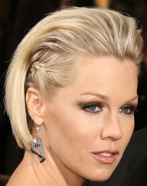 Jennie Garth Fauxhawk - Jennie Garth Looks - StyleBistro