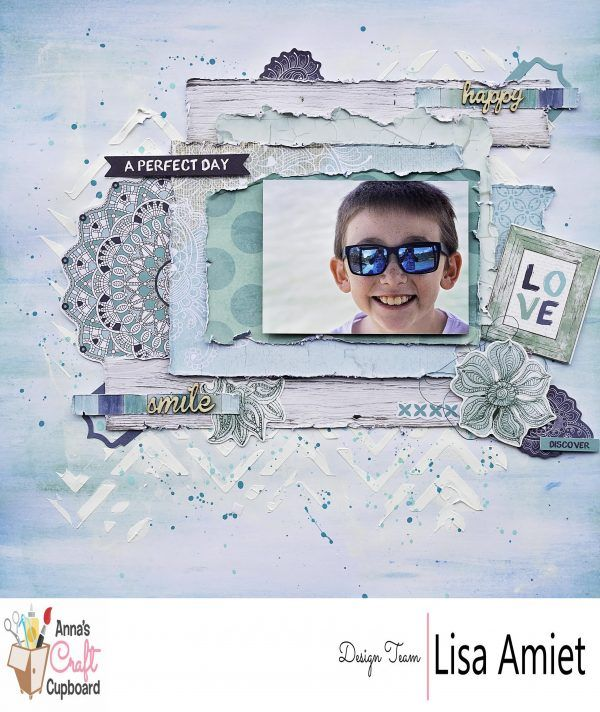 Kaisercraft Ubud Dreams with Lisa Amiet - Scrapbooking by Anna's Craft Cupboard
