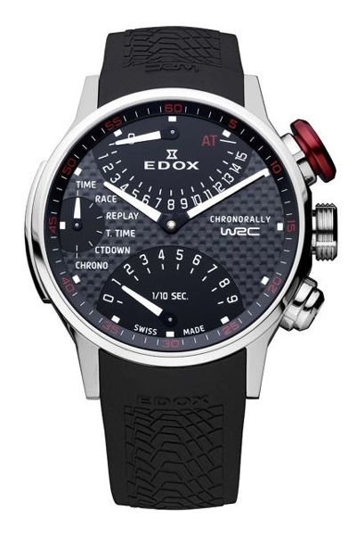 Edox Large Watches - 36001 3 NIN Mens WRC***