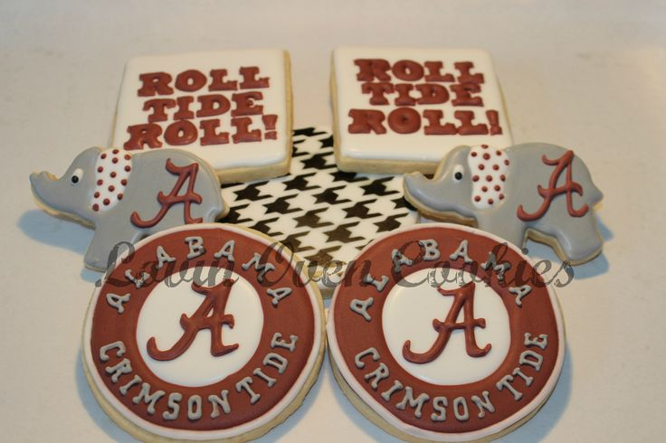 Alabama Crimson Tide Basketball Jersey >> 1000+ images about Teams/Sports Cookies on Pinterest | Logos, Football and Golf ball