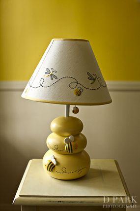 nursery honey pot lamp winnie the pooh baby shower