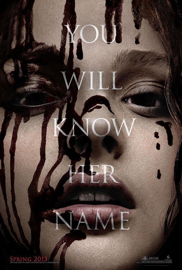 Carrie, A Supernatural Horror Film Remake Based on the 1974 Novel by Stephen King