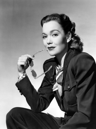 Jane Wyman, Warner Brothers, 1947 Canvas Print / Canvas Art by Everett