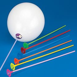 Multi color #balloon #sticks