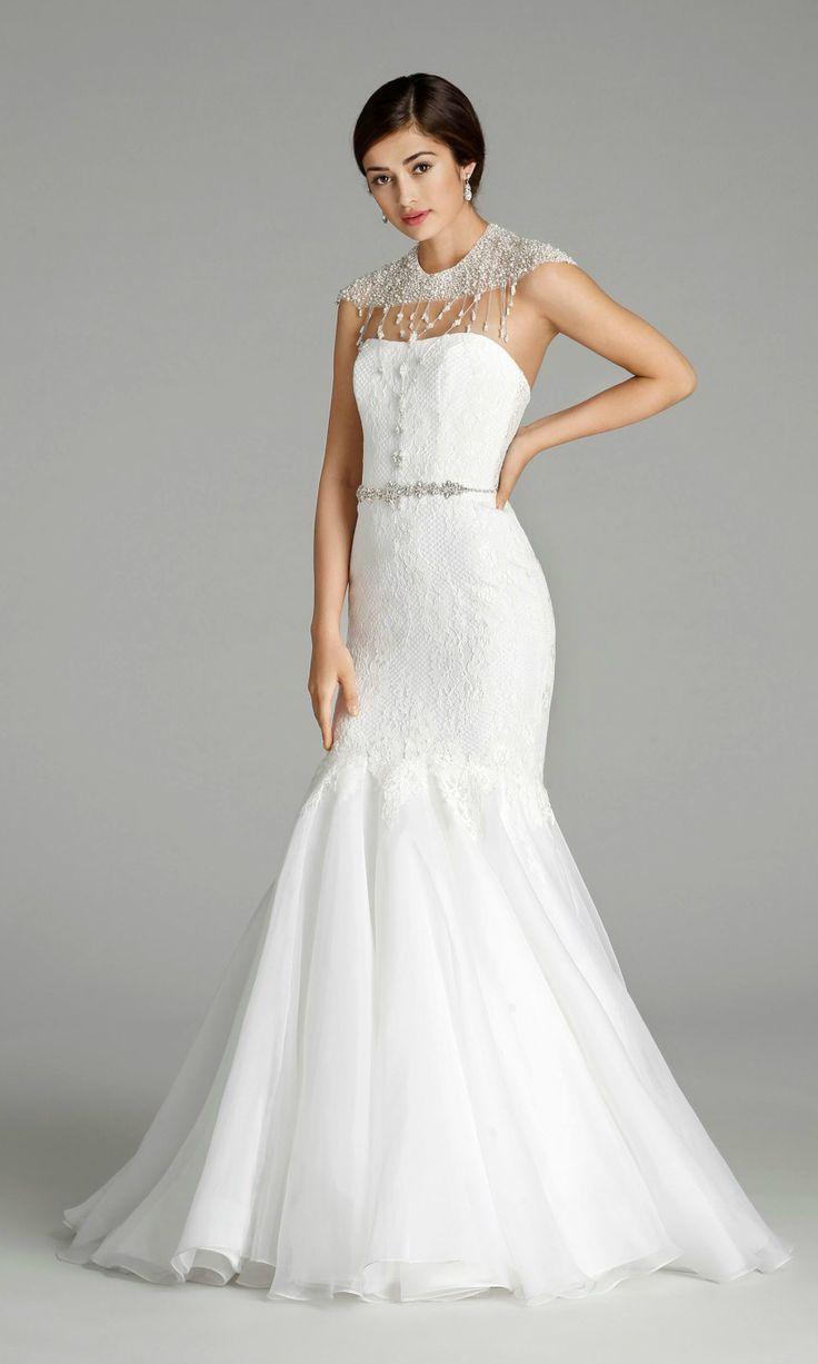 104 best strapless wedding dresses images on pinterest for Wedding dress strap styles