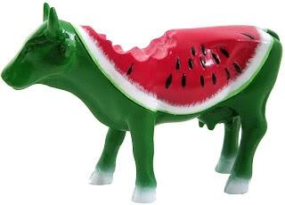 Cow Parade - Watermelon Cow