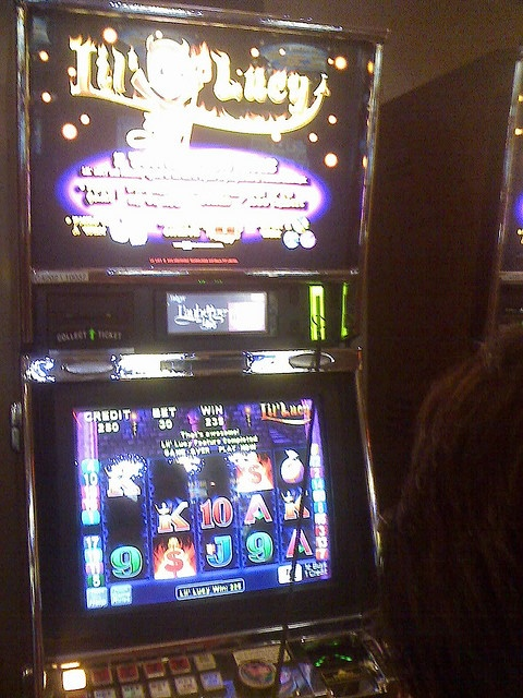 Lil' Lucy. She loves me so much and her random bonuses are awesome! Always play 2 cent slot machines.