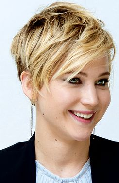 J Law short hair
